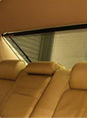 Electric Rear Sunshades